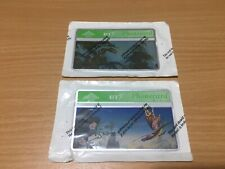 2 x Dinosaur/Dragon Old BT Optical Phonecard/Phone Cards Sealed 1990s UK 20 Unit