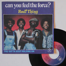 """Vinyle 45T Real Thing  """"Can you feel the force ?"""""""
