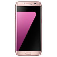 NEW Samsung Galaxy S7 Edge Dual Sim G9350 4G 32GB Pink Intl Model No Warranty