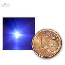 200 SMD LEDs 0805 bleu, coloris blau / SMDs bleu azur SMT Mini LED bleue