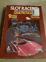 SLOT RACERS for Atari 2600 (1978) CIB▪︎▪︎▪︎▪︎▪︎ FREE SHIPPING ▪︎▪︎▪︎▪︎▪︎