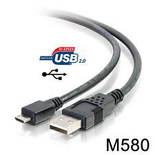 USB Power Charger Cable Cord for BlueAnt Commute 2 Voice Activated Speakerphone