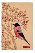 "Ulster Weavers, ""Eden Project Bullfinch"", Pure Cotton printed tea towel UK."