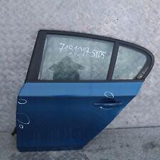 BMW 1 er E87 LCI Fahrerseite Tür hinten links Sydney Blau A19