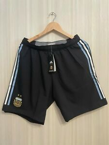 5+/5 AUTHENTIC Argentina team 2018/2019 away Sz L Adidas shorts football soccer
