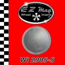 WI 2905-S EZ Mag Wheel Inserts (silver) Fits Strombecker Slot Cars & More