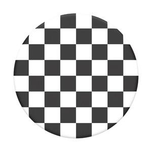 Checker Black - PopSockets PopGrip: Universal Phone Grip Holder