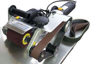 SET: Rohrbandschleifer RBS650proWS & Satiniermaschine SAT100proWS