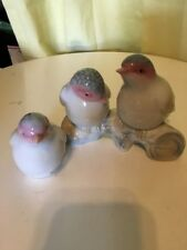 Two Valencia Collection Porcelain Birds made in Spain