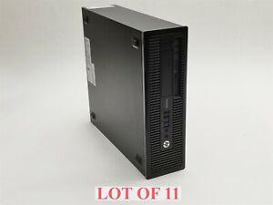 HP ProDesk 600 G1 SFF Intel i5 4th Gen 8GB 500GB HDD Win10 Pro Computer Lot 11