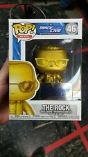 Funko Pop! Wwe SmackDown Live The Rock Gold #46 Target Exclusive w protector.