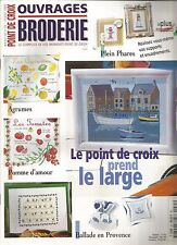 OUVRAGES BRODERIE N°35 AGRUMES / POMME D'AMOUR / BALLADE EN PROVENCE / PHARES