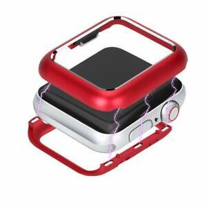 Coque de protection intégrale magnétique Rouge pour Apple Watch 38/40/42/44mm