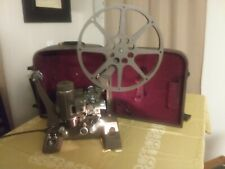 """Vintage Bell & Howell """"Showmaster"""" Movie Projector in Case"""