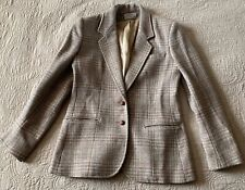 vintage blazer  with elbow patches unisex size S
