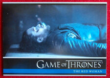 GAME OF THRONES - Season 6 - Card #01 - THE RED WOMAN A - Rittenhouse 2017