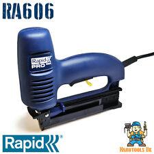 RAPID R606 Eléctrico Grapadora/Clavadora/Grapadora divergentes (606 de colocación) ME606