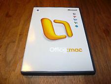 Microsoft Office Mac 2004 version française pour Mac französische Vollversoin