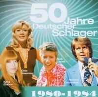 50 Jahre Deutscher Schlager (15 tracks) 1980-84:Howard Carpendale, Gitte .. [CD]