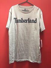 Timberland Grey Logo T-Shirt (Size M)