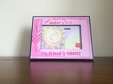 """RUSS Sister Wooden Photo Frame Gift 4"""" x 6"""" Delores Art"""