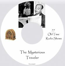 THE MYSTERIOUS TRAVELER, 77 Mystery Radio Shows - Audio MP3 CD OTR