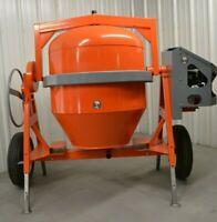 Champ Equipment Mfg C4100 Honda concrete cement mixer 12 CF gas gasoline powered