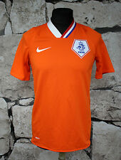 NIKE NETHERLAND 2008/2010  HOME FOOTBALL SHIRT JERSEY MAGLIA size S ( 332 )