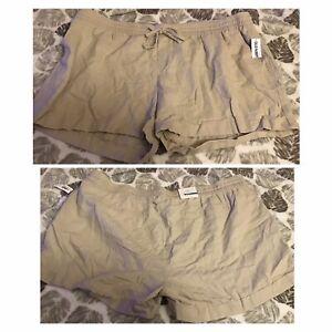 Old Navy XXL plus size khaki shorts NWT