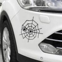 Araignée dans le web voiture style personnalité voiture moto décoratif