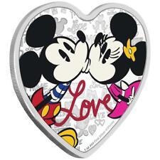 Niue - 2 Dollar 2019 - Mickey™ & Minnie™- Love (5.) - 1 Oz Silber PP