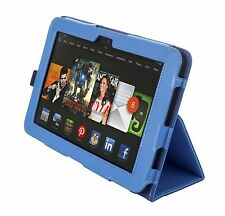 """NEW Kyasi Seattle Classic Tablet Case for Amazon Kindle HDX 8.9"""" October Blue"""