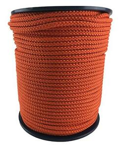 Orange Bondage Rope, Soft To Touch Rope - Select Your Diameter and Lot Length