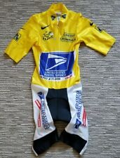 LANCE ARMSTRONG - 2003 Tour de France Race-Issued Yellow Skinsuit NIKE Italy
