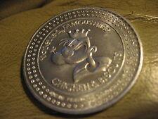 popeyes chicken popeye's 1984 Doubloon token coin vintage popeye