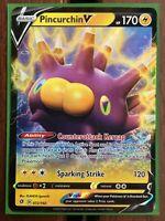 Pokemon Card    PINCURCHIN V   Ultra Rare   72/192  REBEL CLASH  *MINT*  (072)