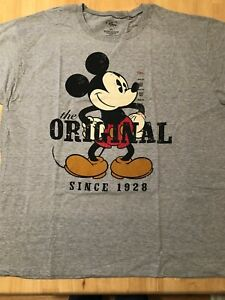 Disney Mickey Mouse  -The Original 1923 T Shirt XXL New w Tags XXL  Disney Store