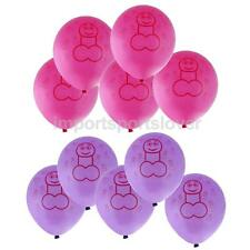 10pcs Funny Latex Willy Balloons Wedding Hen Party Stag Night Decoration