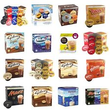 Dolce Gusto Compatible Hot Chocolate Drink Pods Galaxy Mars Twix milkyway, Mixed