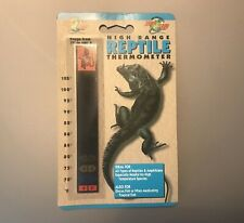 Zoo Med Th-10 High Range Reptile Thermometer (Snake Tegu Lizard Turtle Supplies)