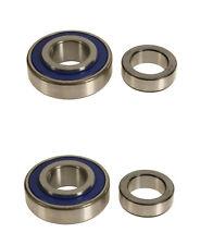 2 OEM SKF Left+Right axle Rear Wheel Bearings for Toyota Previa w/ Drum Brake