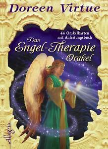 Das Engel-Therapie-Orakel (Kartendeck) 44 Karten mit Anleitungsbuch Virtue Box