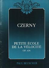 CZERNY Petite école de la vélocité Op. 636 - Piano