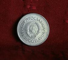 1987 Socialist Federal Republic of Yugoslavia 50 Dinara World Coin Sate Emblem
