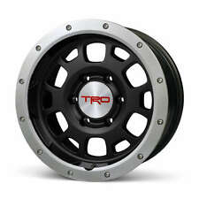 "Toyota FJ Cruiser 2007 - 2014 TRD 16"" Black Bead Lock Rims Set - OEM NEW"