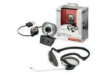 NUOVO TRUST 15227 CHAT & VOIP 1.3 MP WEBCAM & HEADSET ChatPack, Portable 2250