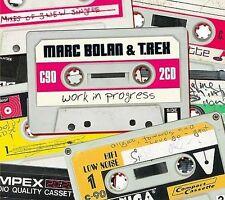 MARC BOLAN & T. REX-Work In Progress-2 CD Set-BRAND NEW- Sealed