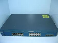 Cisco Catalyst WS-C2970G-24TS-E 24x GIGABIT 4x SFP 10/100/1000