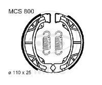 TRW Bremsbacken Bremsbelag mit Feder MCS800 Backen Trommelbremse