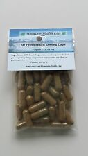 50 Peppermint Leaf Capsules 500mg  Herbal Calms the Stomach